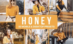 50 Honey Yellow Lightroom Presets 4546189