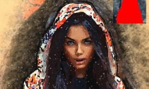 7 Watercolor Photoshop Actions Bundle 26314119