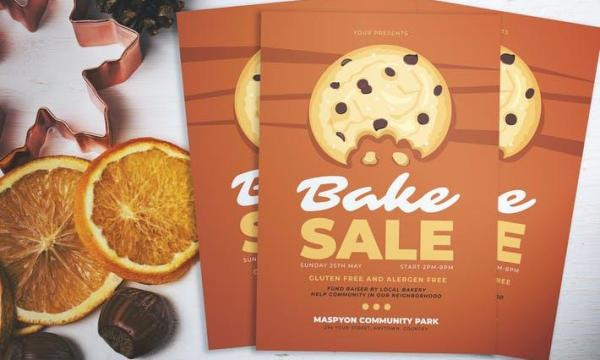 Bake Sale Day Flyer