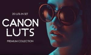 Canon video LUTs 3997813