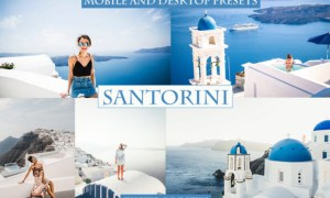 Cinematic Santorini Lightroom Presets 4220941