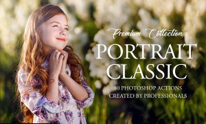 Classic Portrait Photoshop Actions 3545232