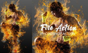 Fire Effect Ps Action 4787668