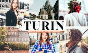 Turin Mobile & Desktop Lightroom Presets
