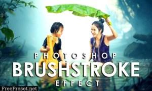 Vibrant Brushstroke Photoshop Action 3802594