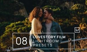 8 Lovestory Film Lightroom Presets + Mobile