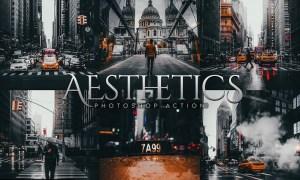 Aesthetics Photoshop Action KC7EA8L