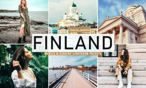 Finland Mobile & Desktop Lightroom Presets