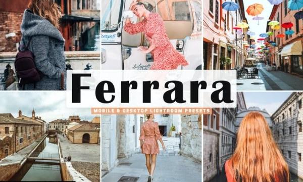 Free Ferrara Mobile & Desktop Lightroom Preset