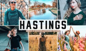 Hastings Mobile & Desktop Lightroom Presets