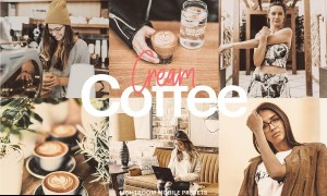 Lightroom Preset-Cream Coffee Theme 4971968