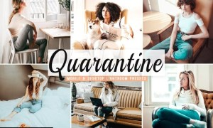 Quarantine Mobile & Desktop Lightroom Presets