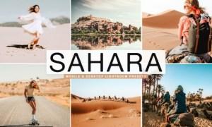 Sahara Lightroom Presets Pack