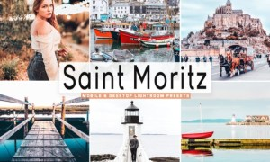 Saint Moritz Lightroom Presets Pack