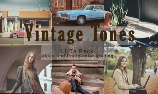 Vintage Tones | LUTs Pack