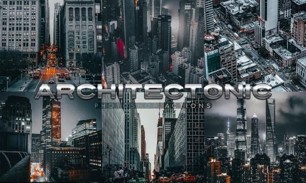 Architectonic Photoshop Actions PR6VG3E