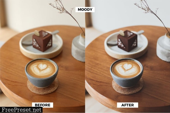 Brownie Coffee Blogger Preset