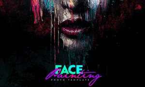 Face Painting Photo Template 4610923