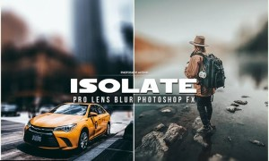 Isolate Photoshop Action ZD9EPPH