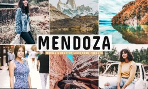Mendoza Mobile & Desktop Lightroom Presets