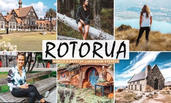 Rotorua Mobile & Desktop Lightroom Presets
