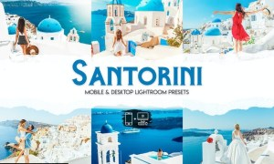 Santorini Lightroom Presets