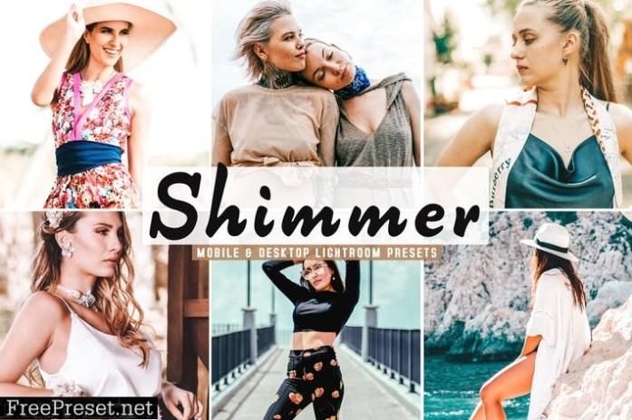 Shimmer Mobile & Desktop Lightroom Presets