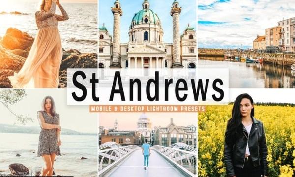 St Andrews Mobile & Desktop Lightroom Presets