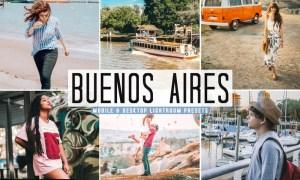 Buenos Aires Mobile & Desktop Lightroom Presets