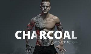 Charcoal Photoshop Action V3NG7WP