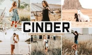 Cinder Mobile & Desktop Lightroom Presets