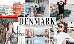 Denmark Mobile & Desktop Lightroom Presets