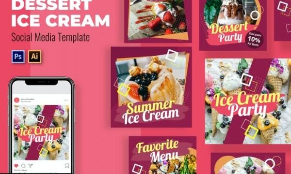 Dessert Puding Social Media Template UV2LCLJ
