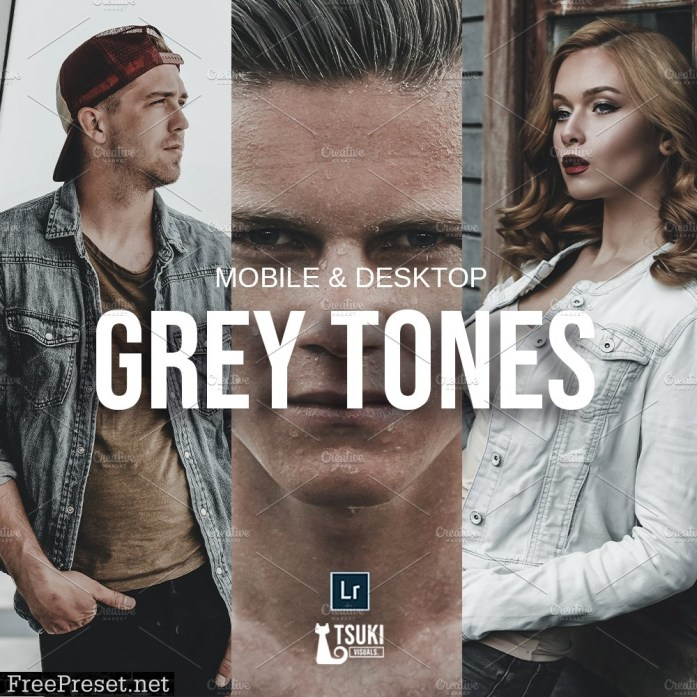 GREY TONES Lightroom Presets 5115218