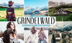 Grindelwald Mobile & Desktop Lightroom Presets