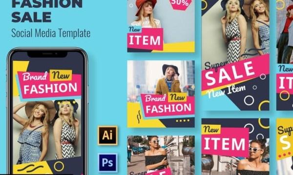 Item Fashion Social Media Template JHZKV9E