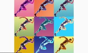 Pop Art Poster Action  92WKUC