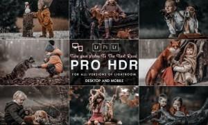 PRO HDR Lightroom Presets ( Mobile & Desktop )