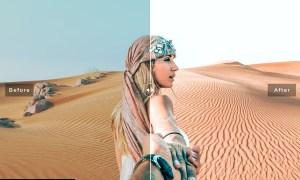 Sand Dunes Mobile & Desktop Lightroom Presets