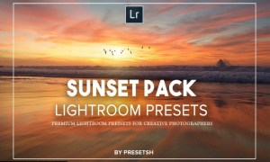Sunset photography Lightroom Presets