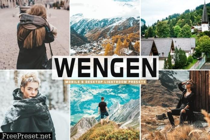 Wengen Mobile & Desktop Lightroom Presets