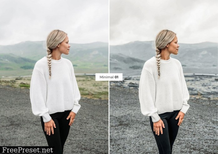 4 Lightroom Presets MINIMAL 4887542
