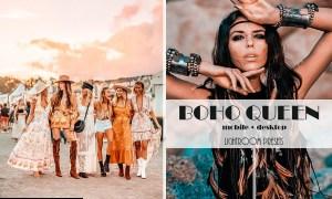 Boho Queen Lightroom Presets   Desktop & Mobile