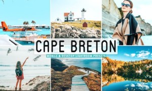 Cape Breton Mobile & Desktop Lightroom Presets