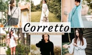 Corretto Mobile & Desktop Lightroom Presets