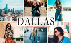 Dallas Mobile & Desktop Lightroom Presets