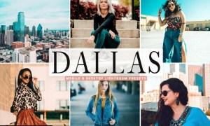 Dallas Mobile & Desktop Lightroom Presets