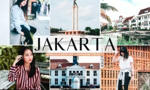 Jakarta Mobile & Desktop Lightroom Presets
