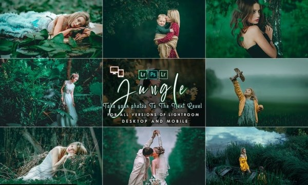Jungle Lightroom Presets ATJQN65
