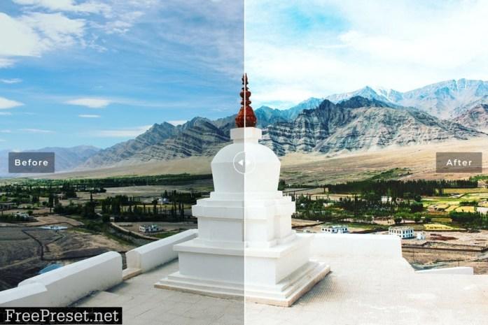 Ladakh Mobile & Desktop Lightroom Presets
